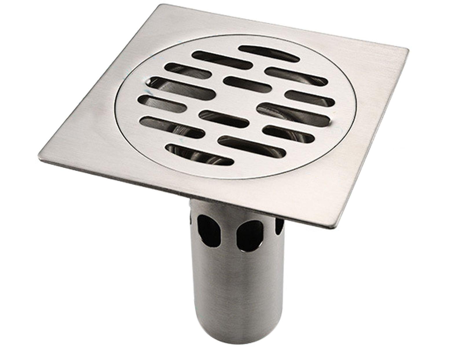 Deodorization Kitchen Bathroom Shower Stainless Steel Floor Drain Proyectos