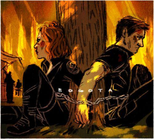 Black Widow and Hawkeye on a mission