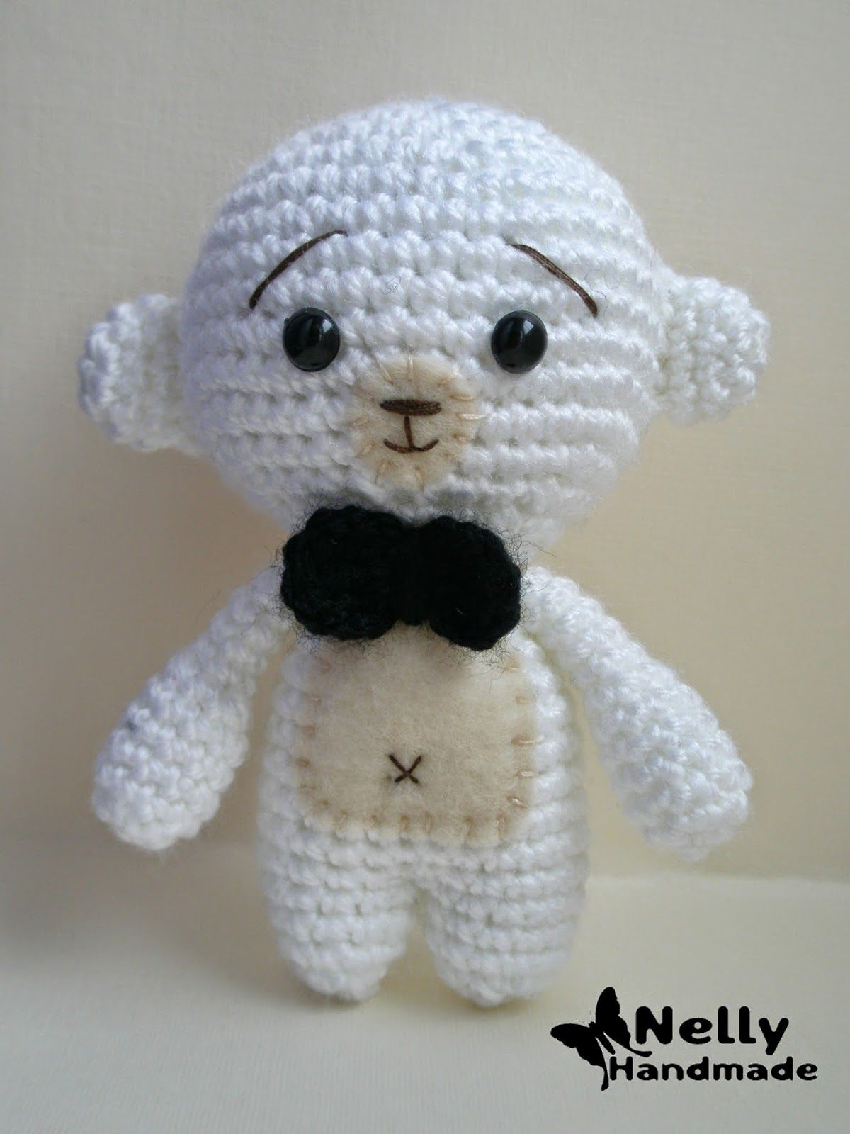 Nelly Handmade: Схемы и МК | Amigurumi - doll body pattern ...
