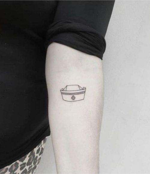 20 Ink Designs For Nurse Tattoos Nursebuff In 2020 Nurse Tattoo Ink Tattoo Homemade Tattoos