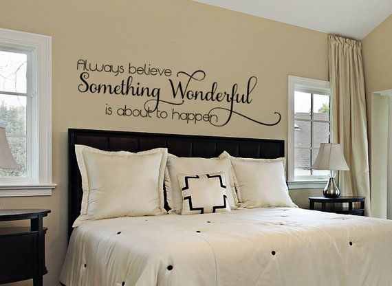 bedroom wall decal - master bedroom wall decal - wall decals for the
