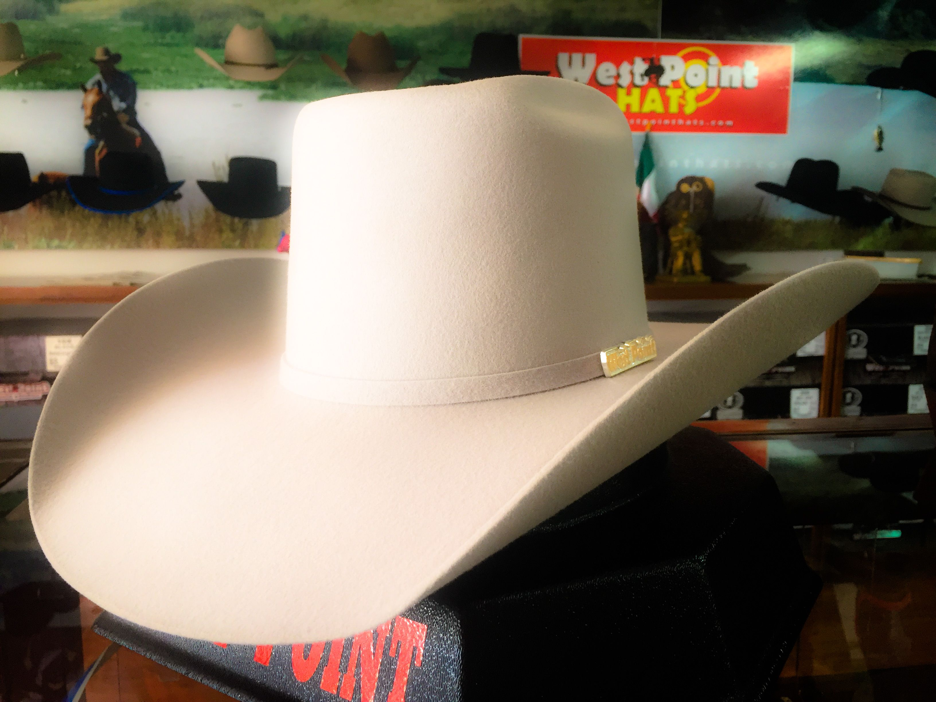 texana  6x color  mistgrey  gris estilo  vakero  vaquero  westpointhats ff62ead2594