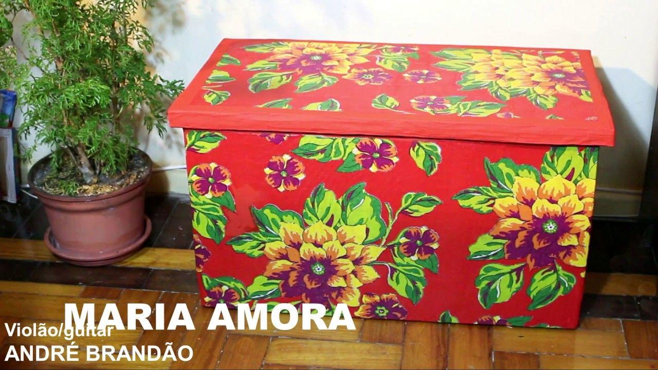 Bau Banco Forte De Papelao Cardboard Trunk Stool Arca