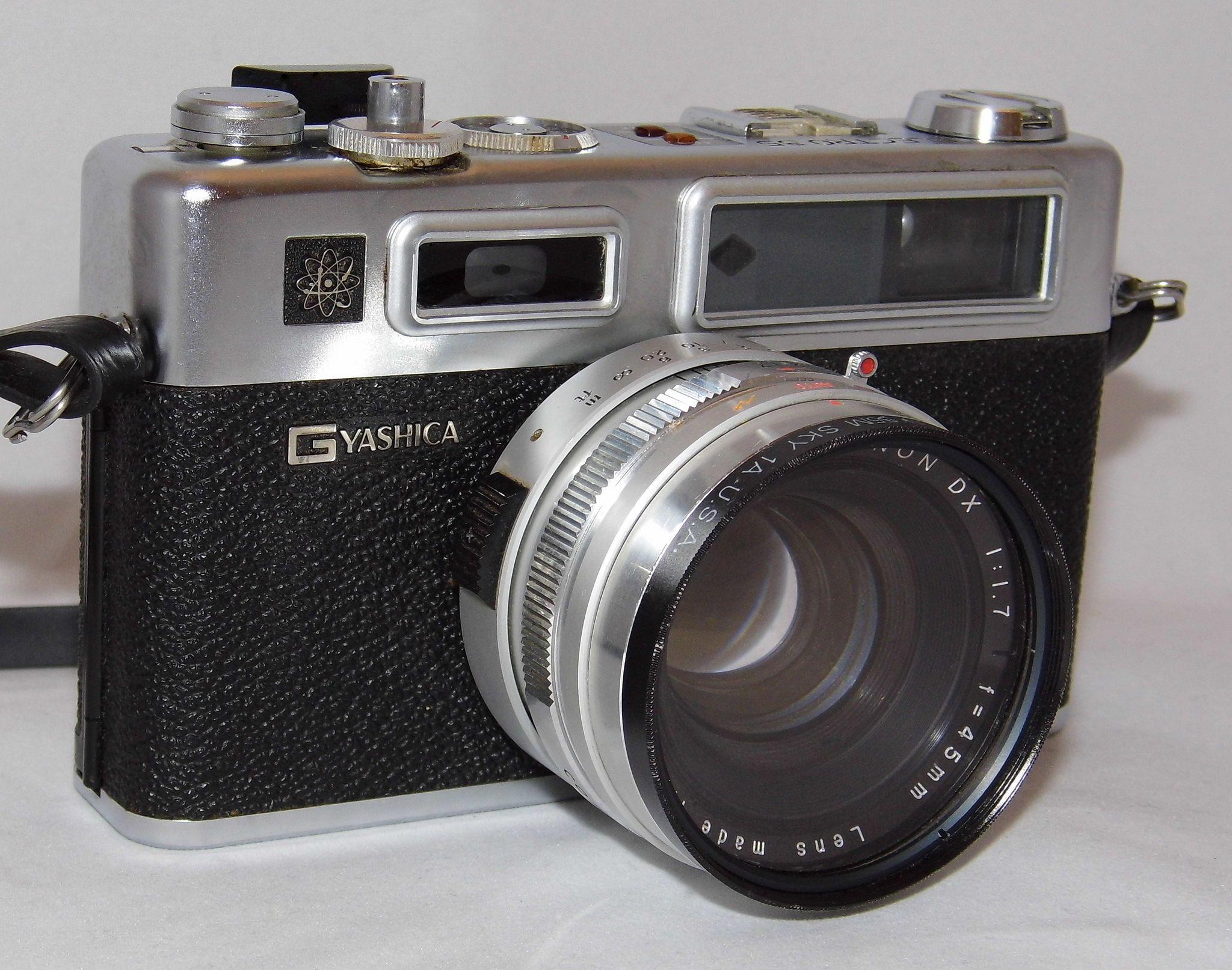Vintage Yashica Electro 35 Gsn Rangefinder Film Camera -7633