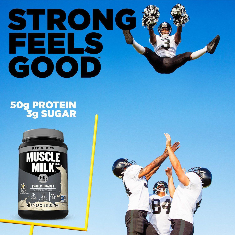 Muscle Milk Pro Series Protein Powder Intense Vanilla 2.54 ...