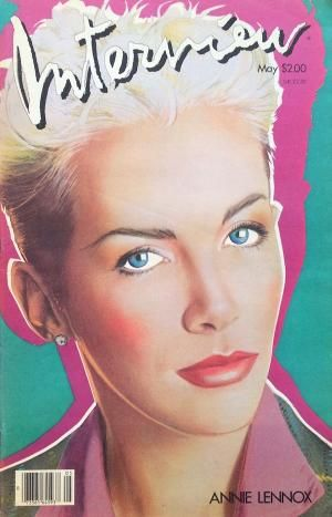 Andy Warhol's Interview Magazine May 1985 (Annie Lennox