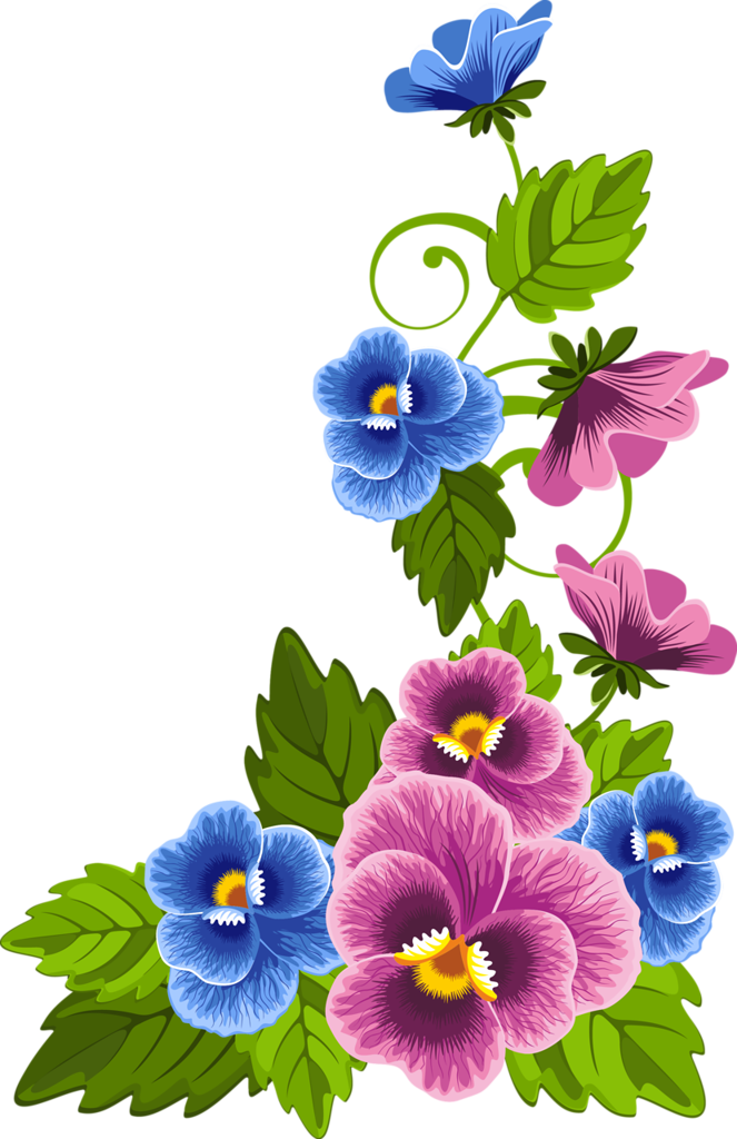 pansies clipart laca vitral pinterest pansies floral and rh pinterest com pansy pictures clip art pansy clip art black and white