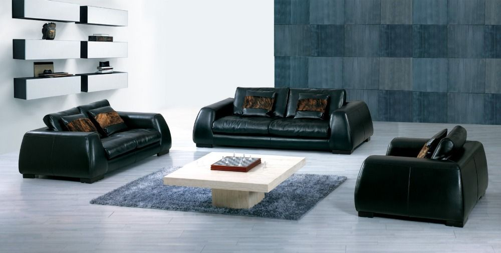hot sale modern chesterfield genuine leather living room sofa set rh pinterest com