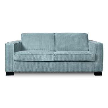 Sofa Stuttgart stuttgart 3 zits ribcord ijsblauw