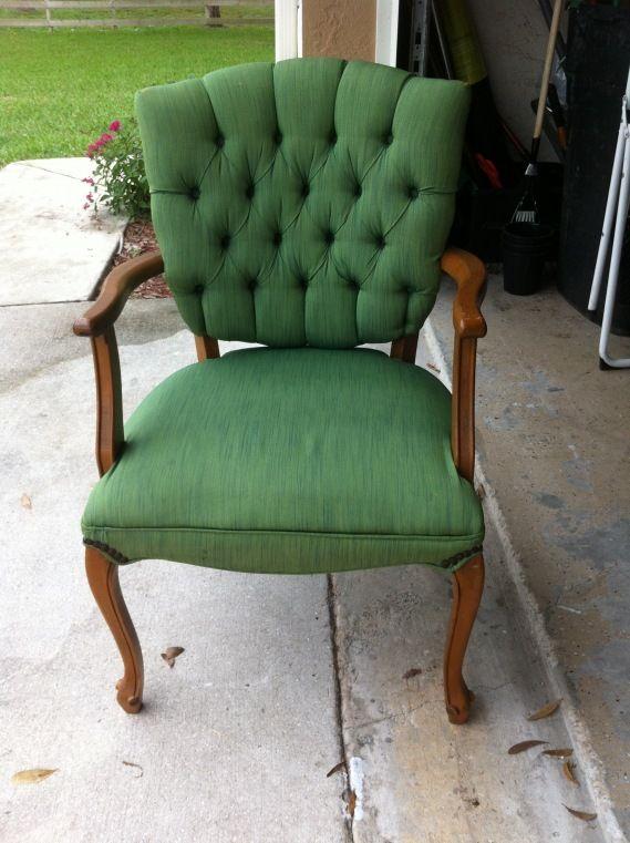 Tulip Fabric Spray Paint Chair Furniture Home Decor