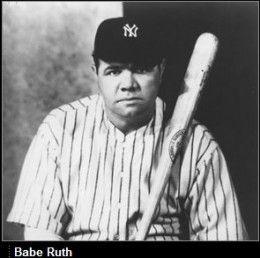Baseball Legend: Babe Ruth Biography | Legends, Baseball and Sports