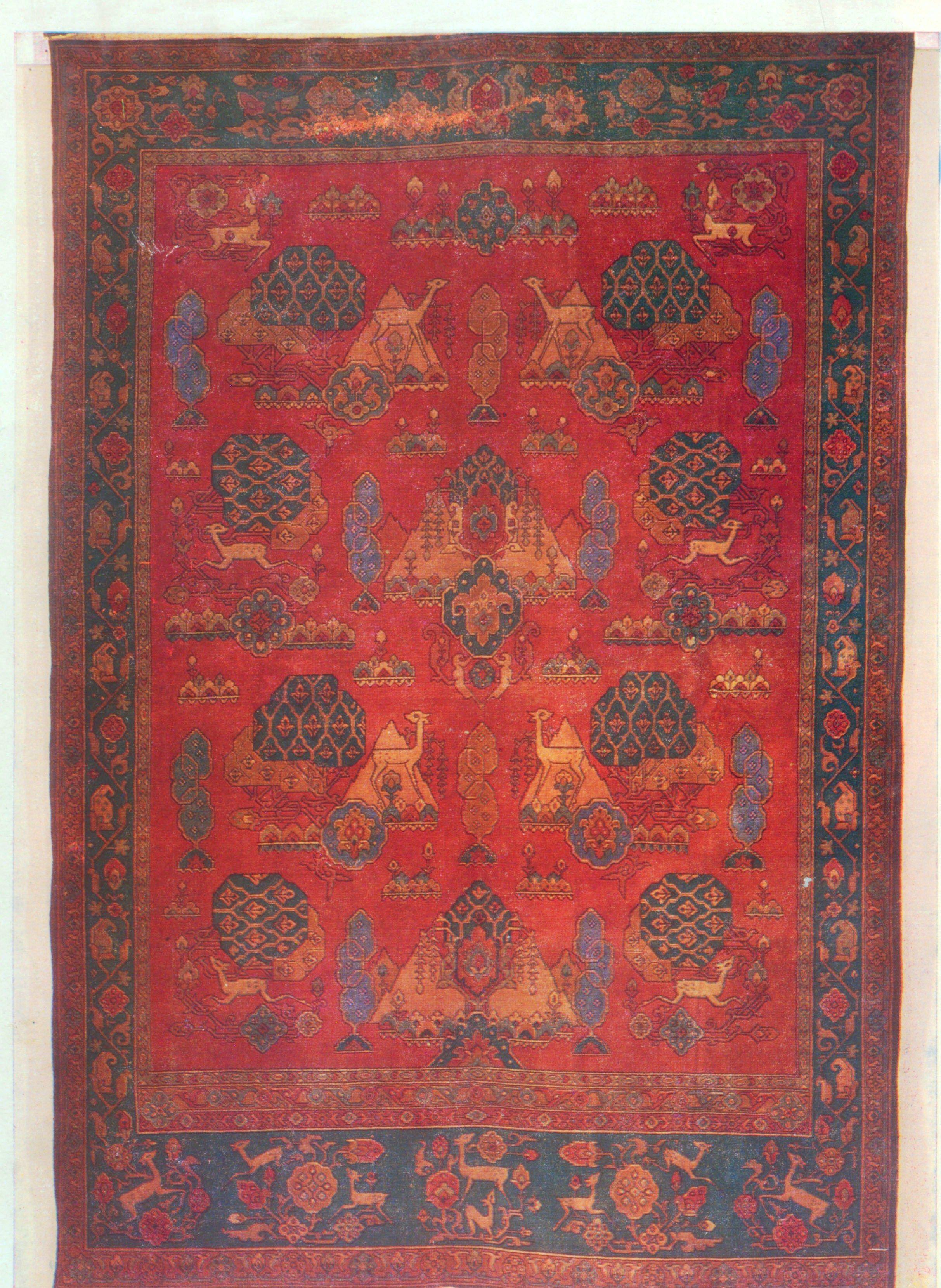 Rug (Artist-R. Margaryan, Yeghnikner, 1963)