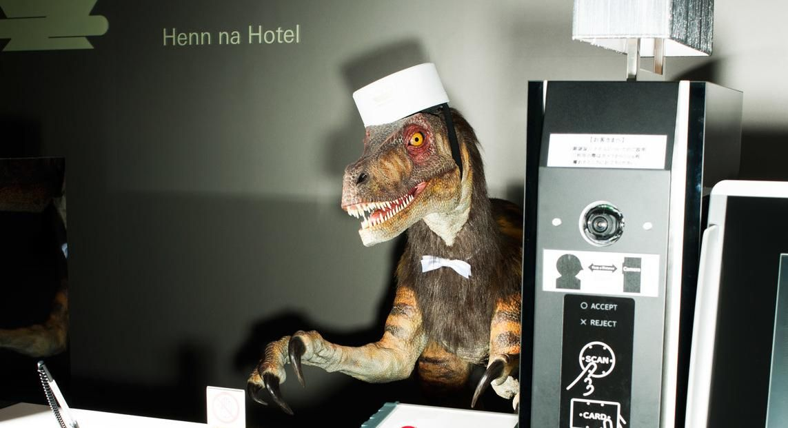 Check In With the Velociraptor at the Worlds First Robot Hotel