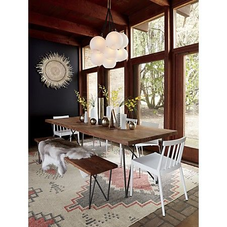 Dylan 36 X104 Dining Table Cb2 Dining Room Design Dining