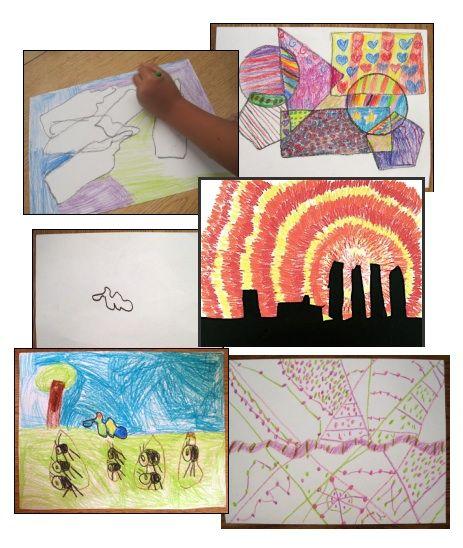Art Lesson Bundle Five Super Easy Activities | Classroom