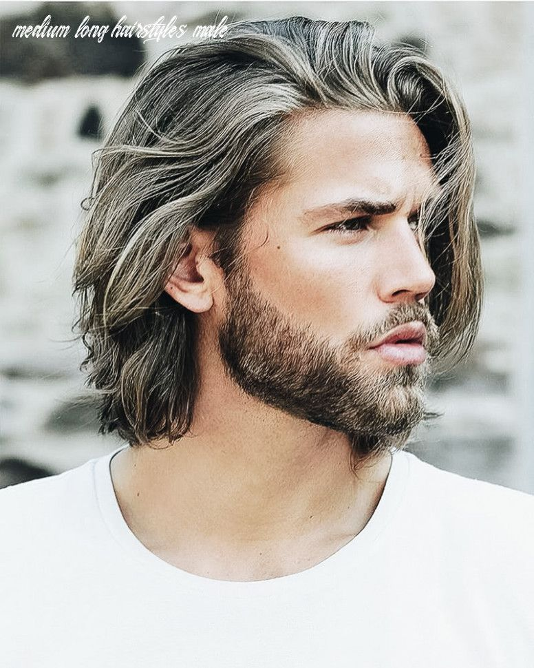10 Medium Long Hairstyles Male Di 2020 Gaya Rambut Panjang Gaya Rambut Rambut Panjang