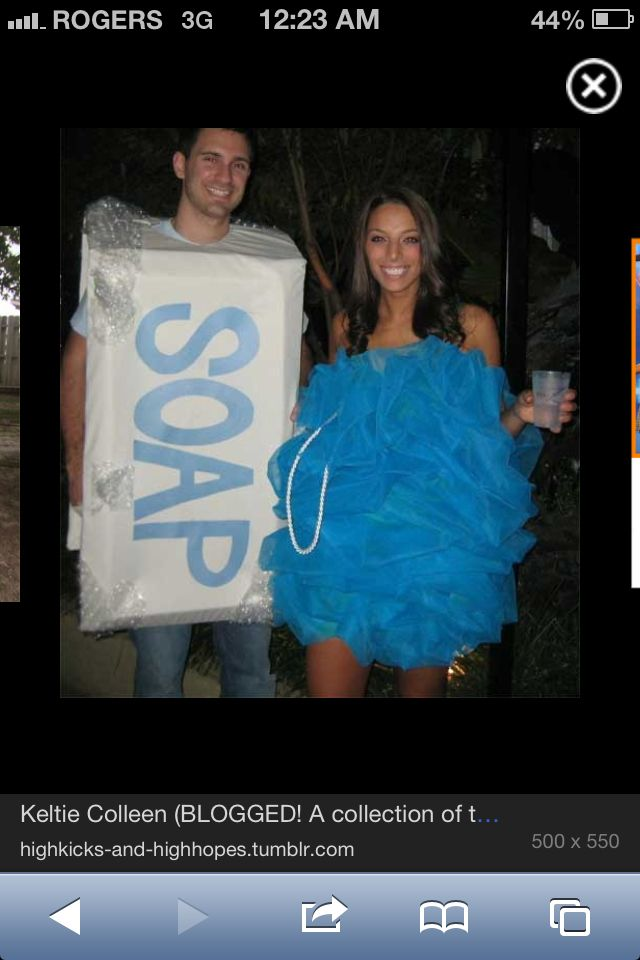 Soap and Loofa Halloween Pinterest