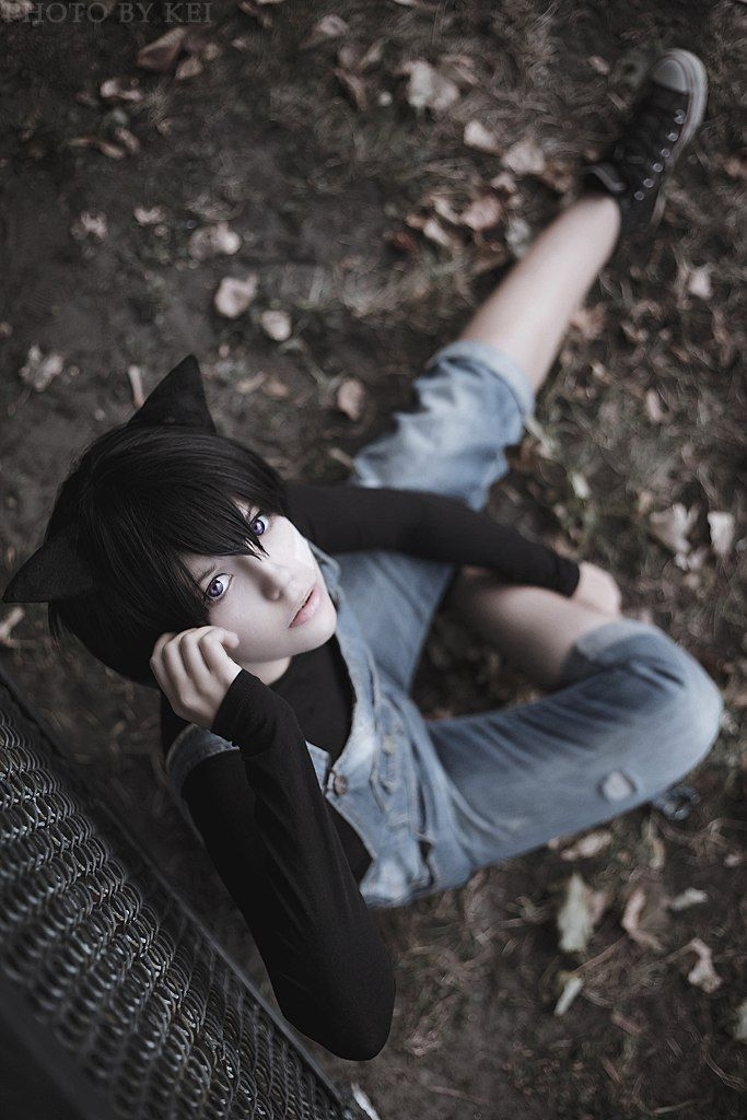 #Cosplay #Loveless #Aoyagi_Ritsuka | Neko-girl, Cosplay ...