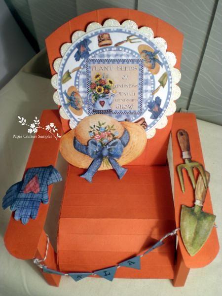 adirondack chair  paper crafts crafts adirondack chair