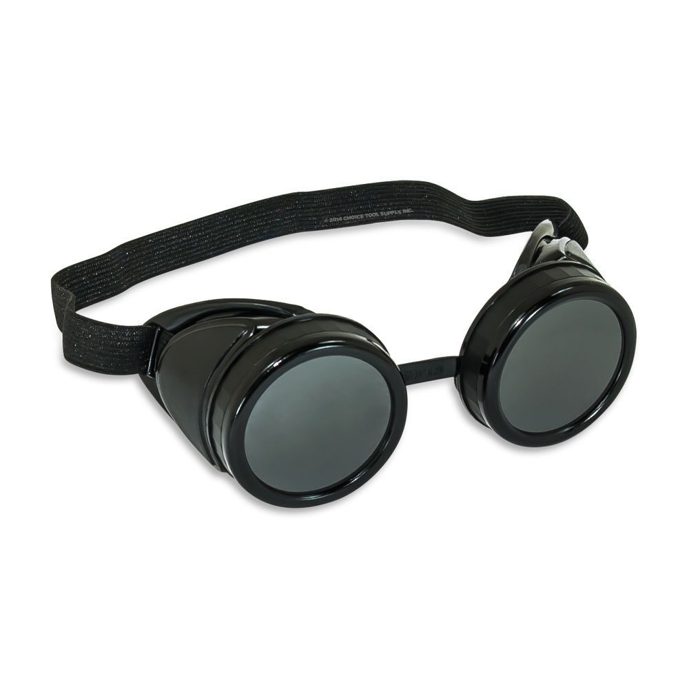 9a9b76d1e4f Black Steampunk Welding Cup Goggles Style