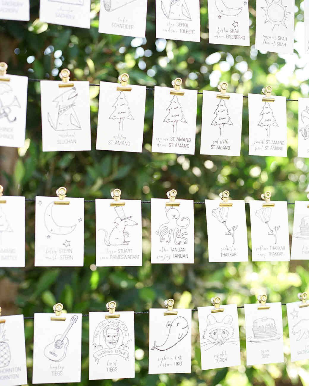 A Greenhouse Ceremony And Ranch Reception In California Wedding Table Name Cards Seating Plan Wedding Wedding Reception Seating