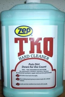 Zep 174 Tko Hand Cleaner Tko Is A Fantastic Liquid Heavy