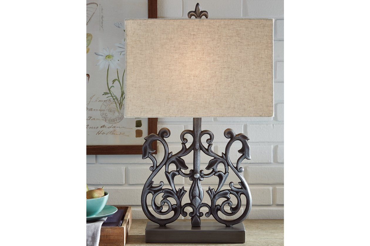 Capper Table Lamp | Ashley Furniture HomeStore