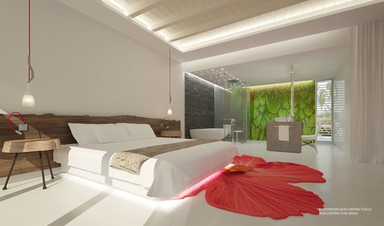 Our new zen oasis rooms in club med punta cana dominican - Club med punta cana chambre club famille ...