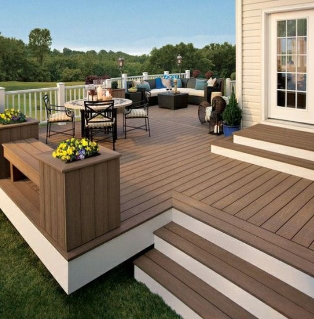 How To Install Diy Decking In Your Garden Backyard Renovations