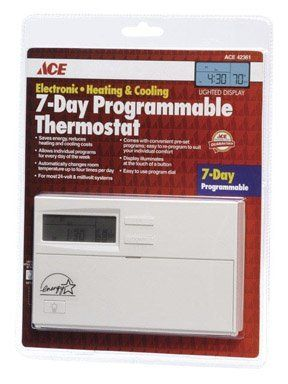 Thermostat Dlx Prog Ace By Lux 24 49 Ace Hardware 24volt