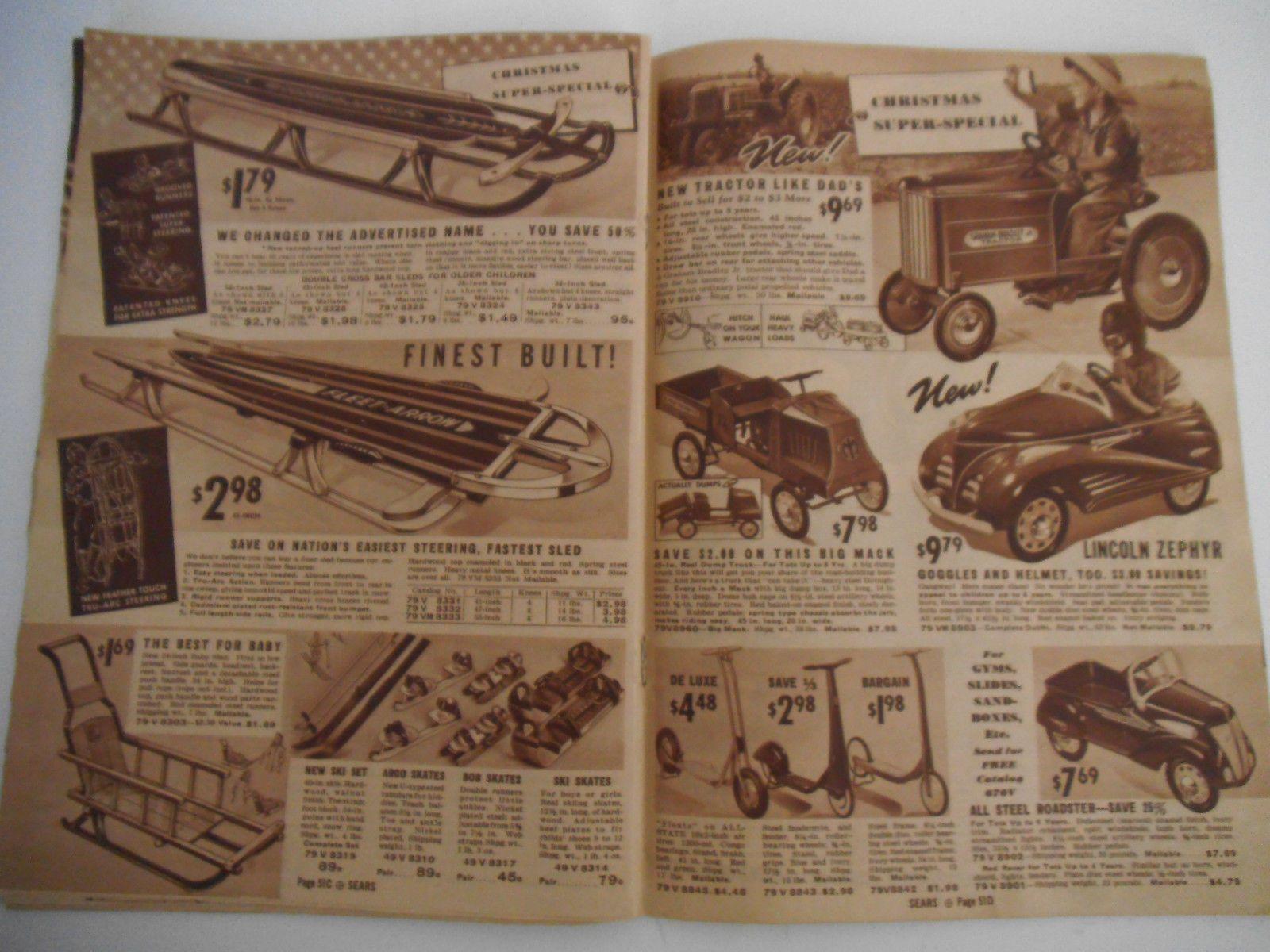 1938 Wonderful RARE Sears Roebuck Co Christmas Book | eBay