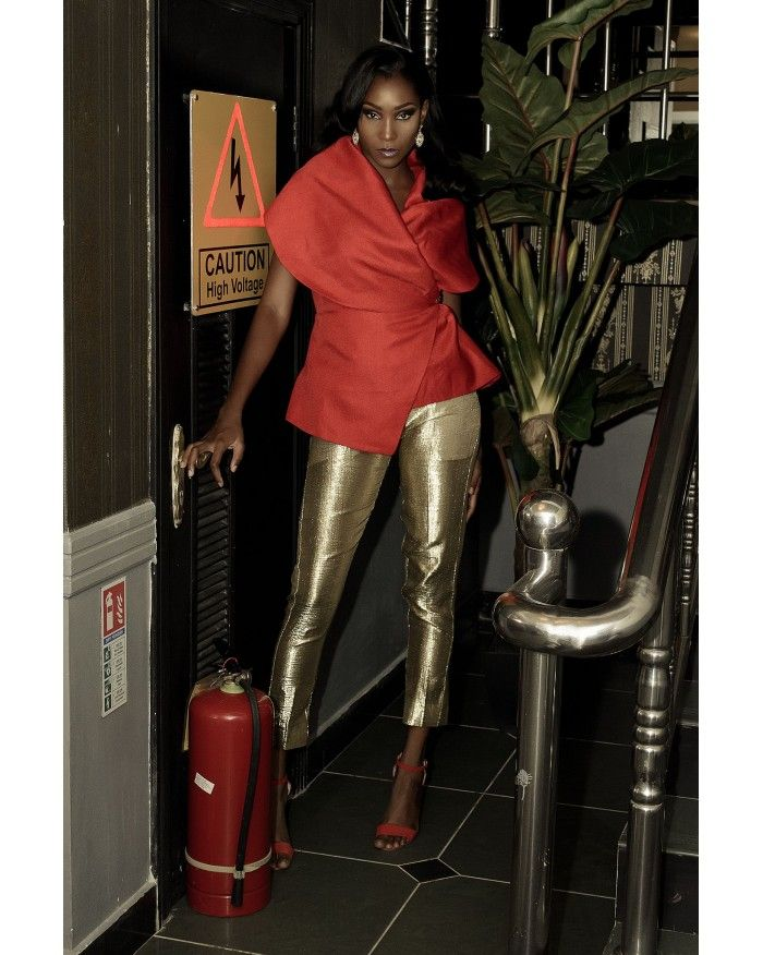 Lady Biba Charmaine Wrap RED
