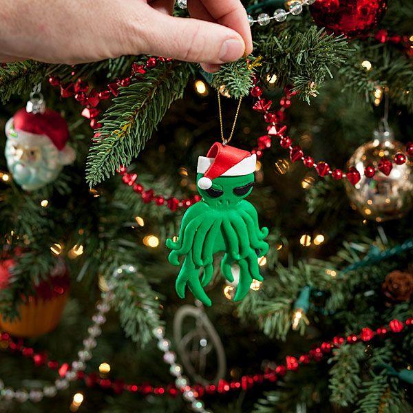 Geeky Christmas: Cthulhu Ornament - Geeky Christmas: Cthulhu Ornament Tech Christmas, Christmas