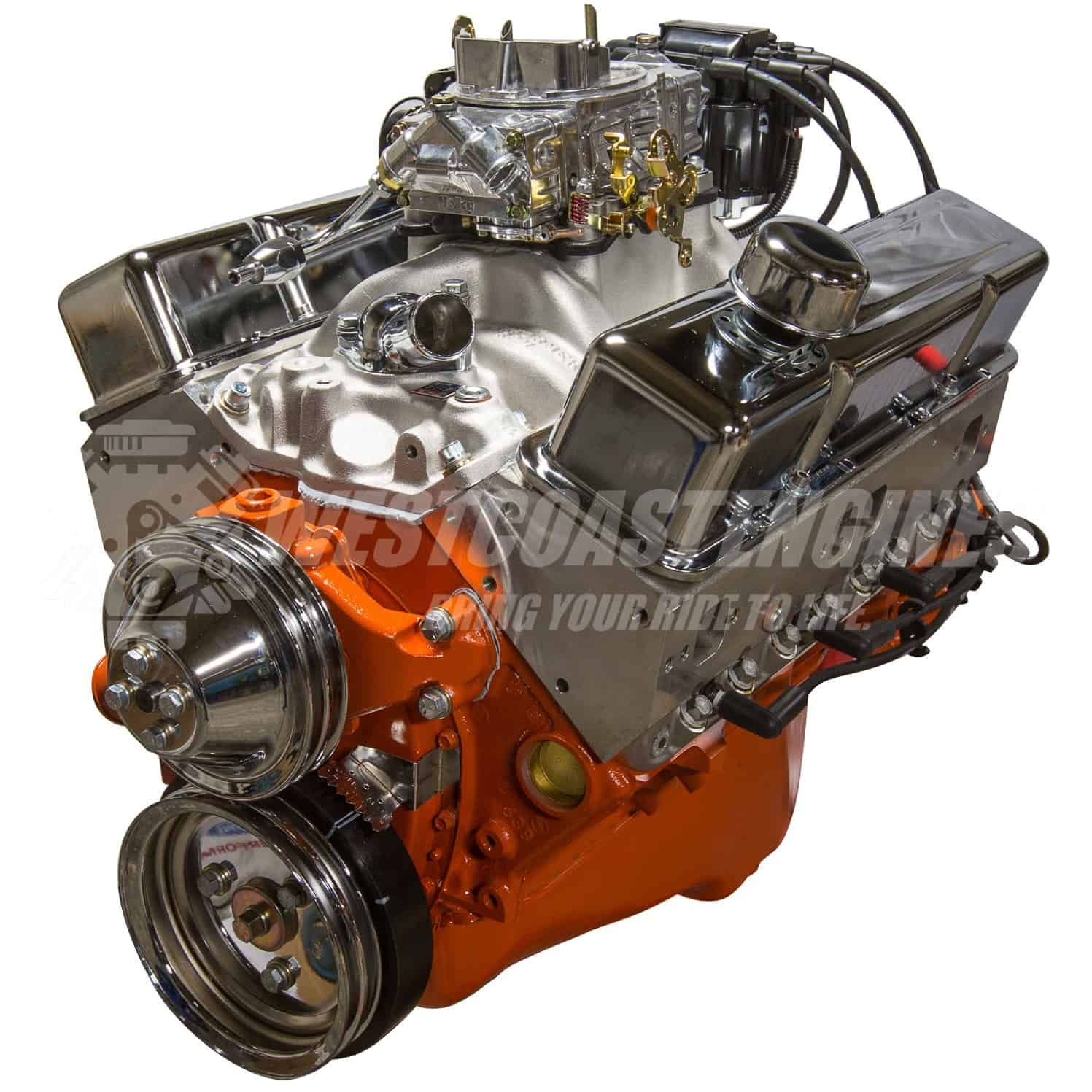 383 Stroker Crate Engine Engineering Chevy Crate Engines