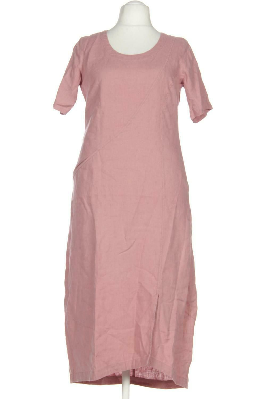 vetono kleid damen dress damenkleid gr. xl leinen pink