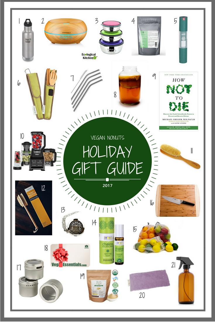 Vegan Nonuts Holiday Gift Guide 2017 Focusing On Vegan
