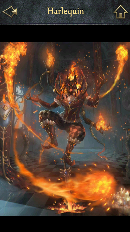 Lore: Born from mischief and fire, the Harlequin visits the land of the living during the week of the Carnivale of souls.