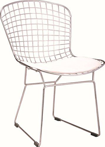 Replica Harry Bertoia Side Chair White Office Chairs Canada  Http://www.amazon