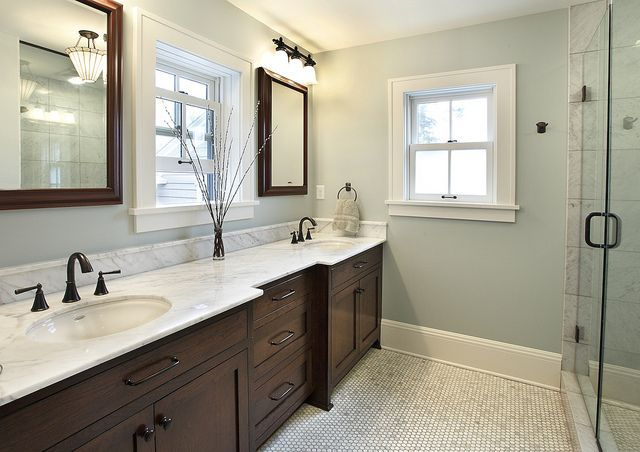 Painting Bathroom Almond Fixtures Paint Colors That Go With