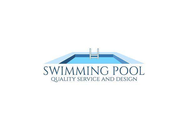 Swimming Pool Logo Logomarca Piscina