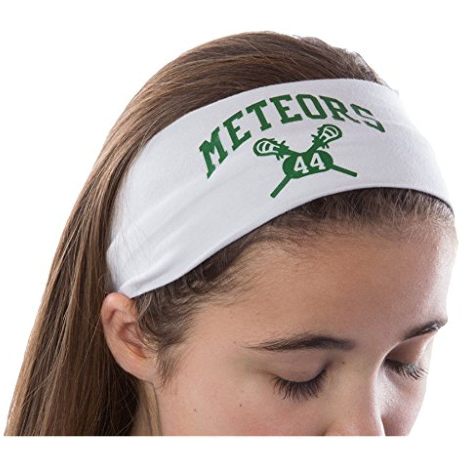 Design Your Own Personalized Lacrosse Cotton Stretch Headband With