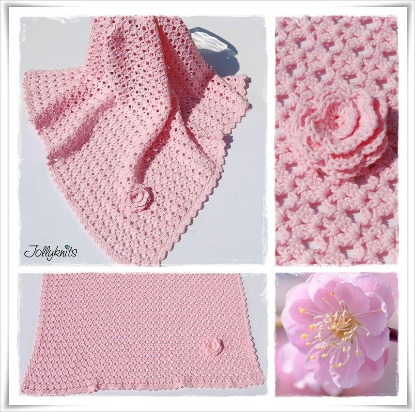 MADITA Häkelanleitung Babydecke / Crochet pattern for Baby Blanket ...