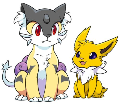 Image result for Raikou and Jolteon pinterest