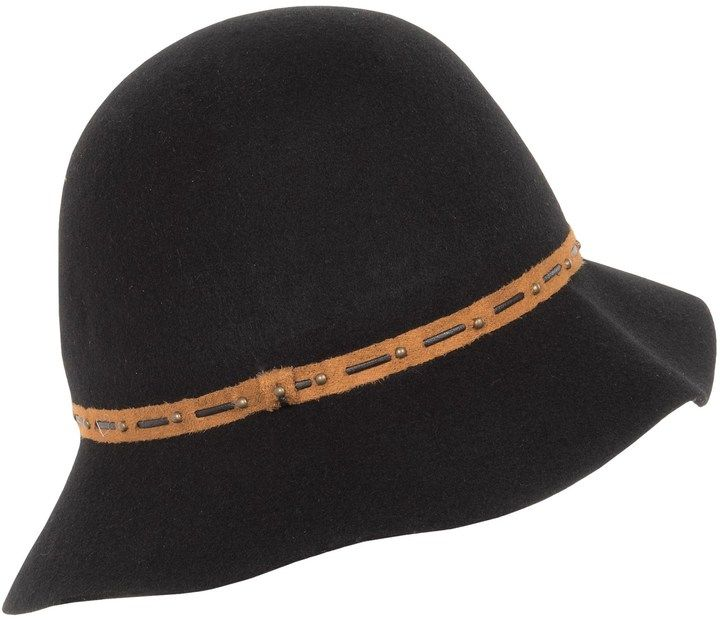 e5313c172 Dorfman Pacific Callanan Felted Wool Cloche Hat (For Women ...
