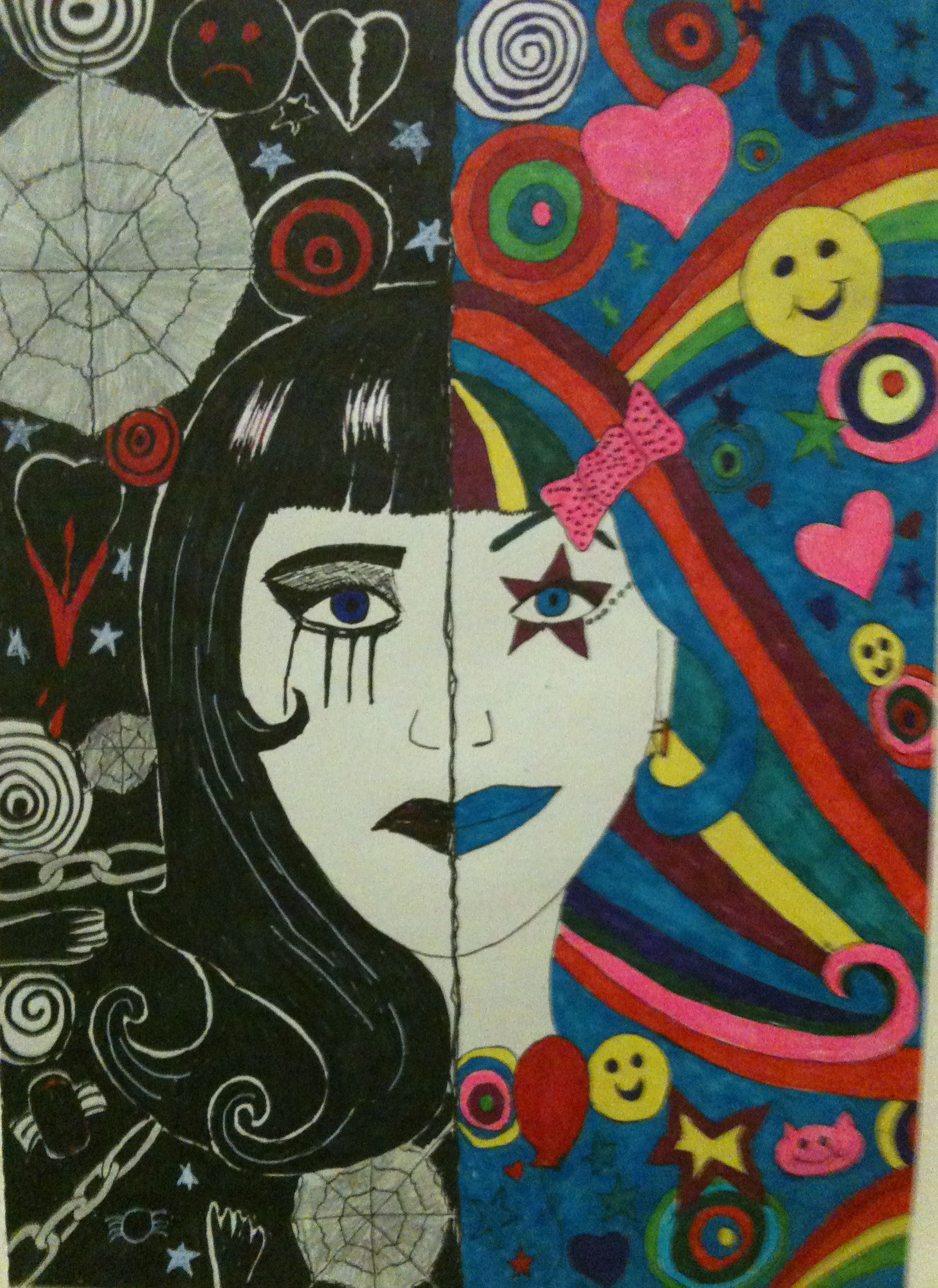 Pin By New Therapies Ireland On Art Therapy Mental Health Art Bipolar Art Art Therapy