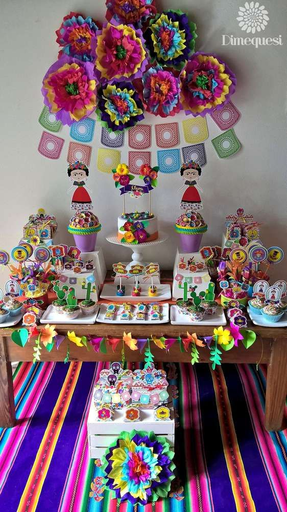 fiesta mexican birthday party ideas mexican them party
