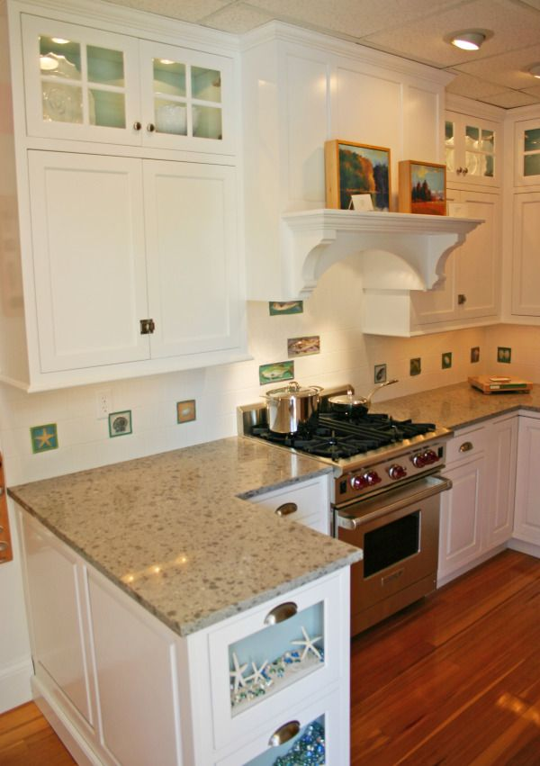 Coastal Living Kitchen Replica for Display