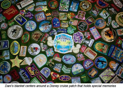 Idea for making a Scout patch blanket | Girl Scouts | Girl
