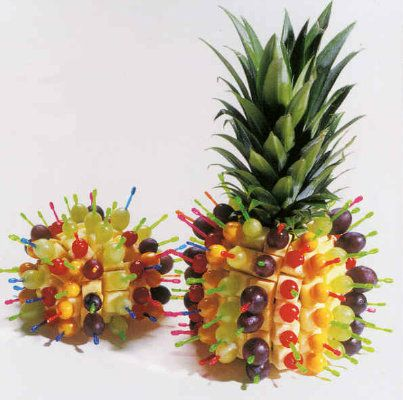 Excellent Display Idea For Fruit Cheese I Will Use This