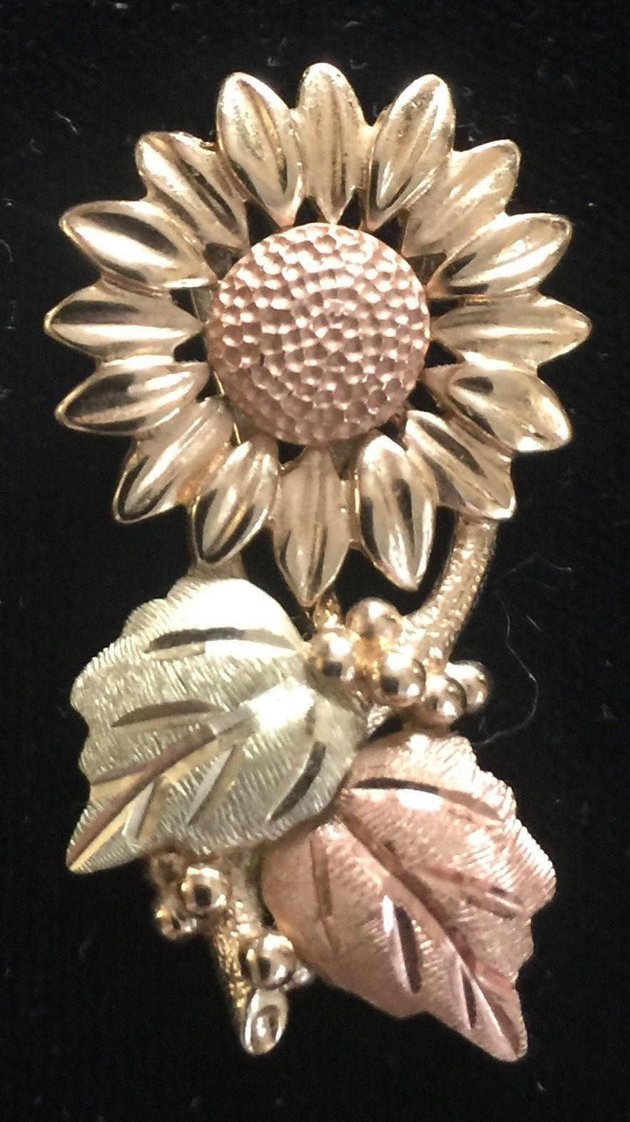 Black Hills Gold Sunflower... Luv2gardn Store on Ebay 595
